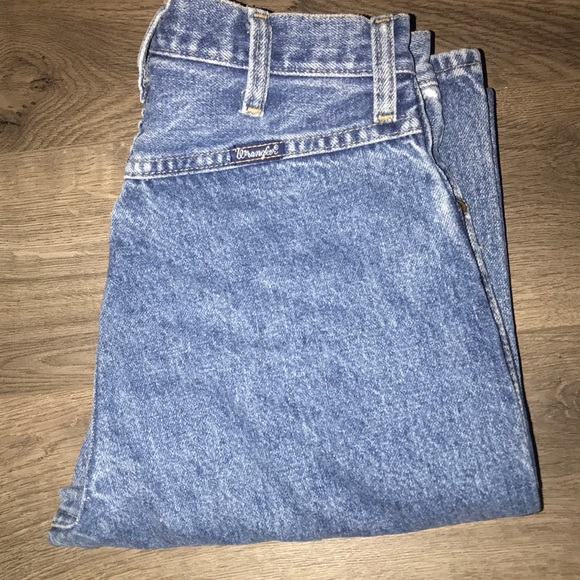 80's High Waisted Wrangler Jeans by Wrangler